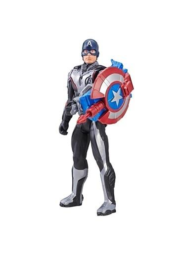 Avengers Avengers Endgame Titan Hero Power FX  Captan America Renkli